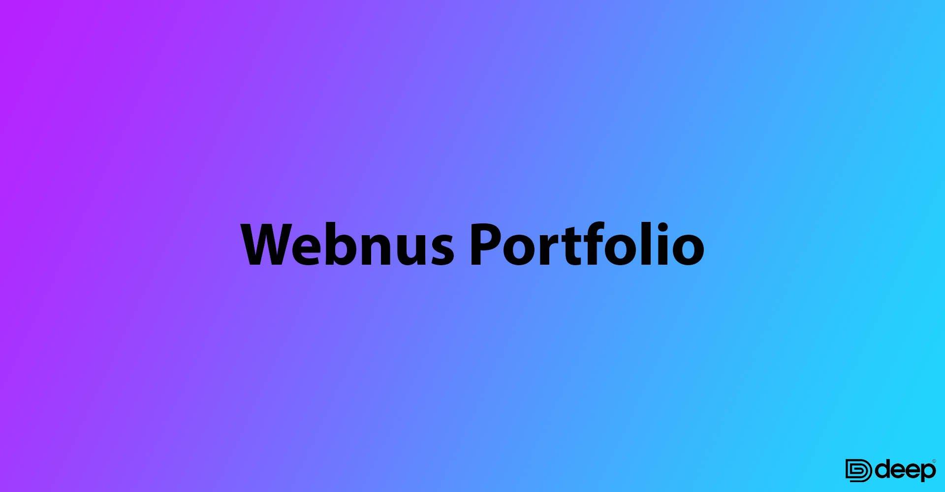 Webnus Portfolio