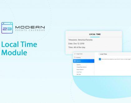 Local Time Module in MEC plugin
