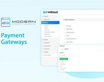 WooCommerce Integration With Modern Event Calendar