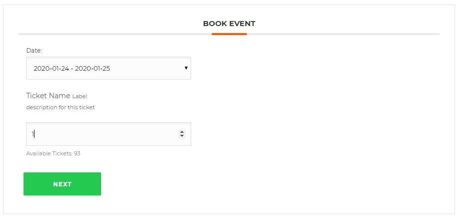 WordPress Event Calendar