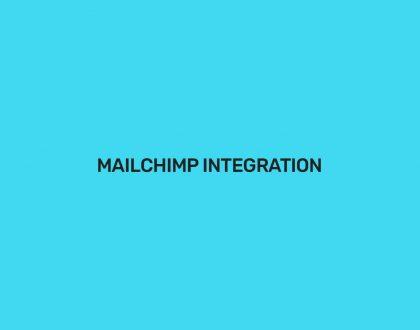 Mailchimp Integration - WordPress Event Calendar