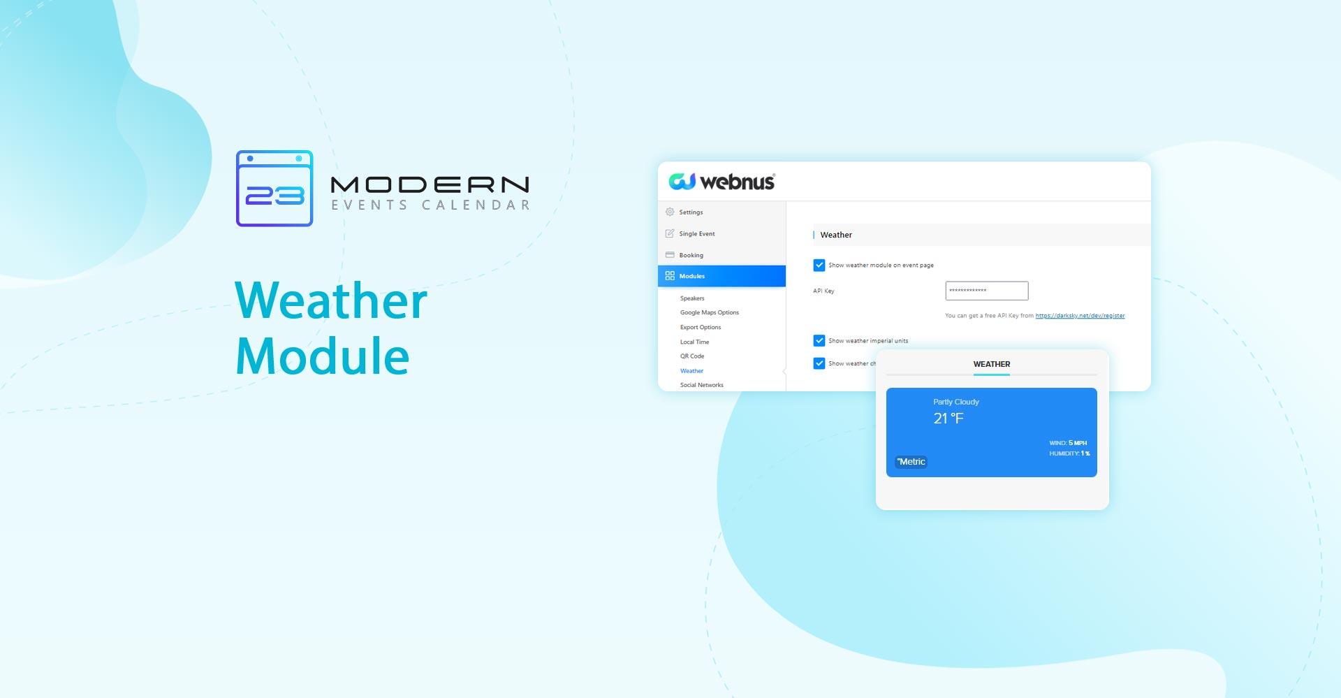 Weather Module in MEC plugin