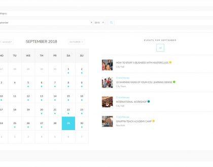 Events Calendar - WordPress Event Calendar