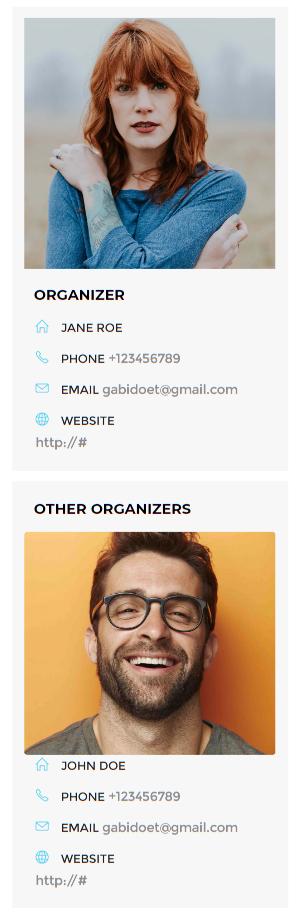 Orginizer - WordPress Event Calendar