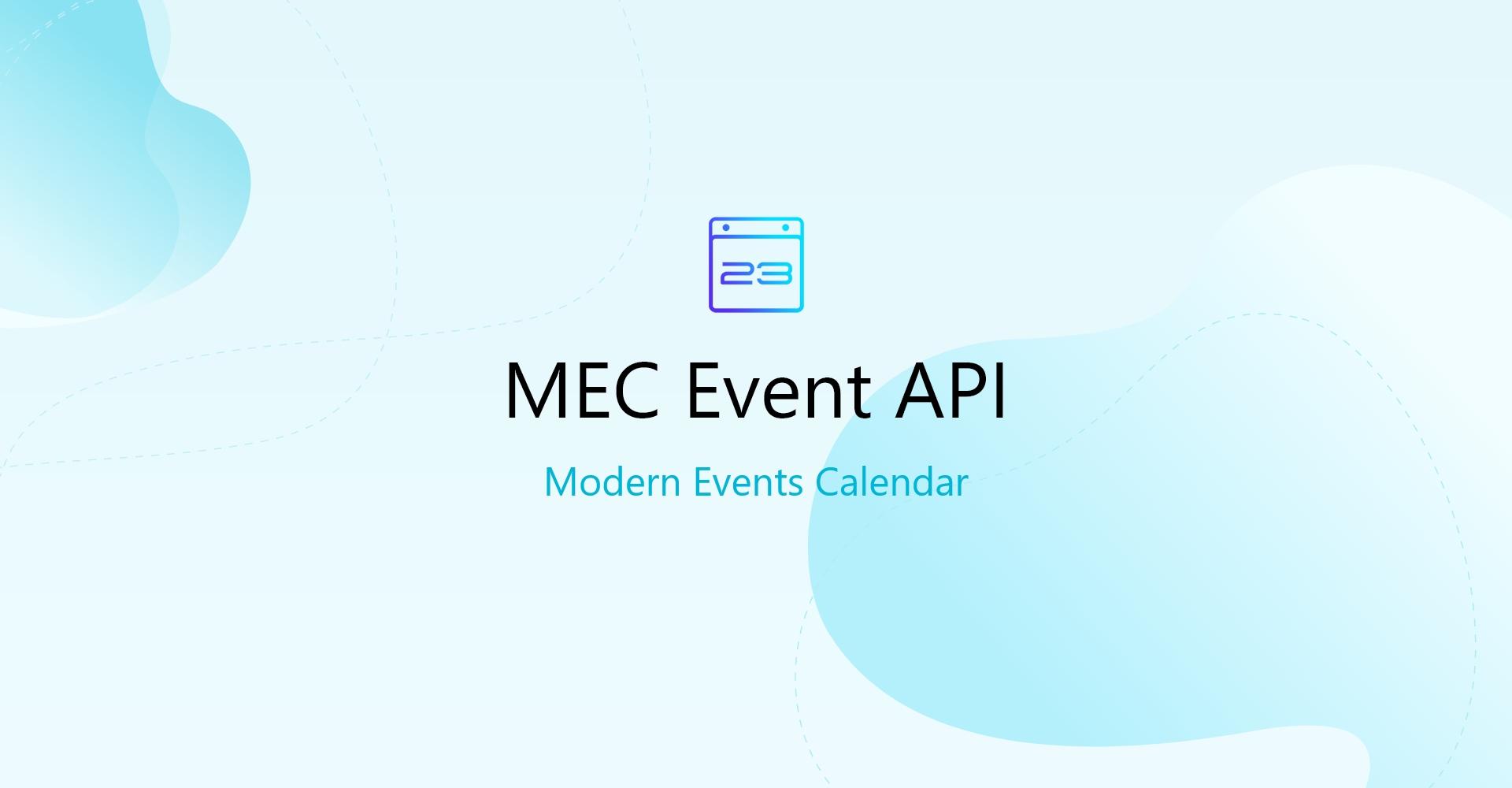 Modern event calendar Event API Addon