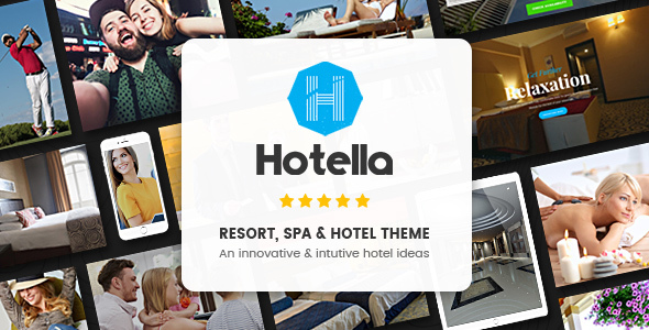 Hotella - Resort & Hotel Booking WordPress Theme 1