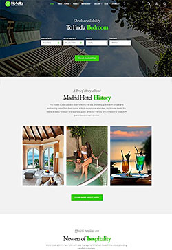 WordPress Hotel Theme 6