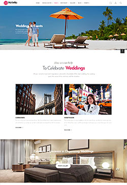 WordPress Hotel Theme 8