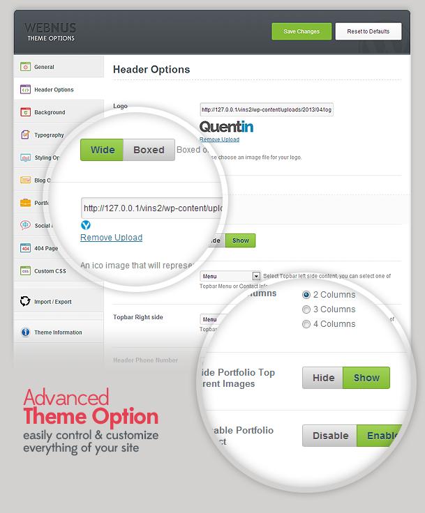 Quentin - Premium Multipurpose WordPress Theme 9