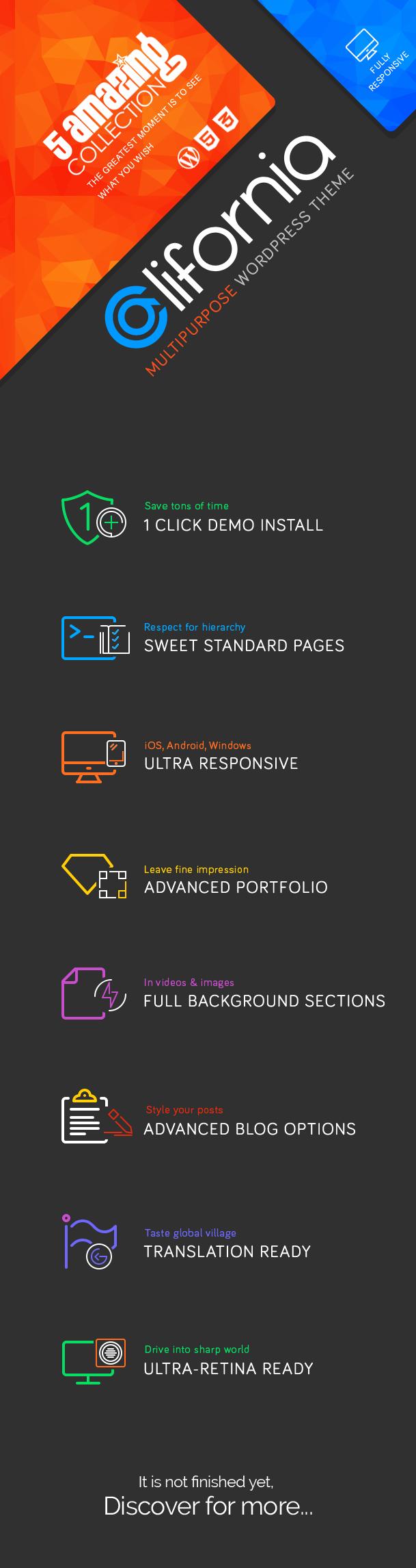 California - Multipurpose WordPress Theme 2