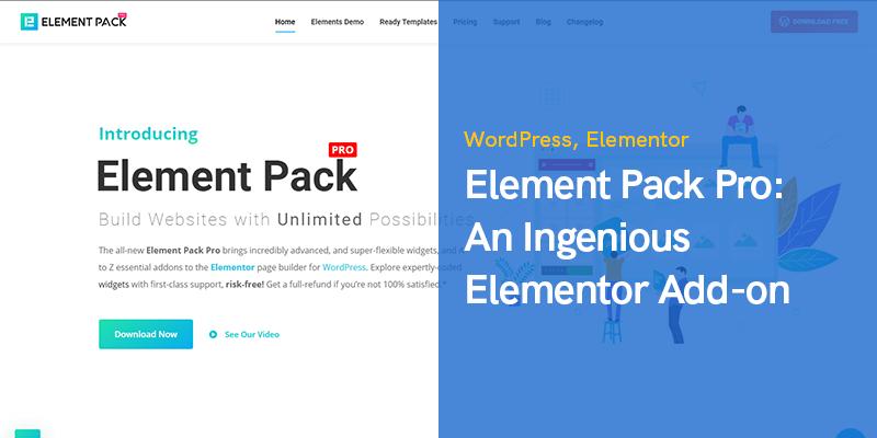 Element Pack Addon for Elementor Page Builder